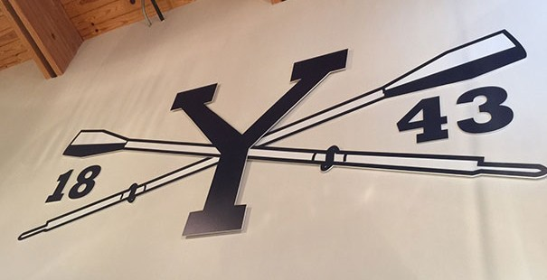 Yale Crew Boathouse Gets Branded