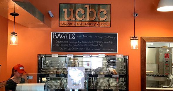 New Signage for Upper Crust Bagel Company