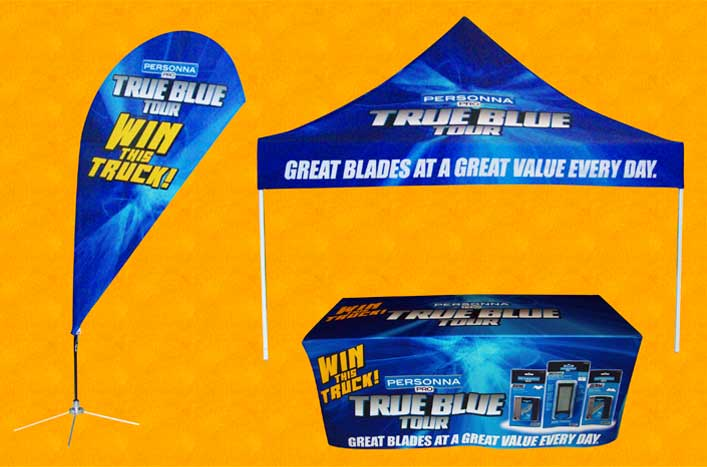 Great Promote Events With Printed Tents, Flags, U0026 Displays