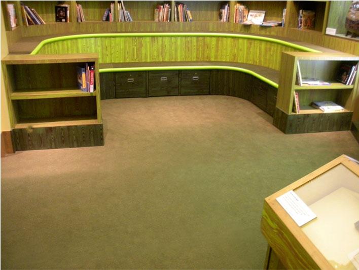 New York Historical Society Children's Museum Carpet
