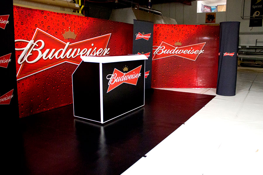 Lighting Up Budweiser On Tour