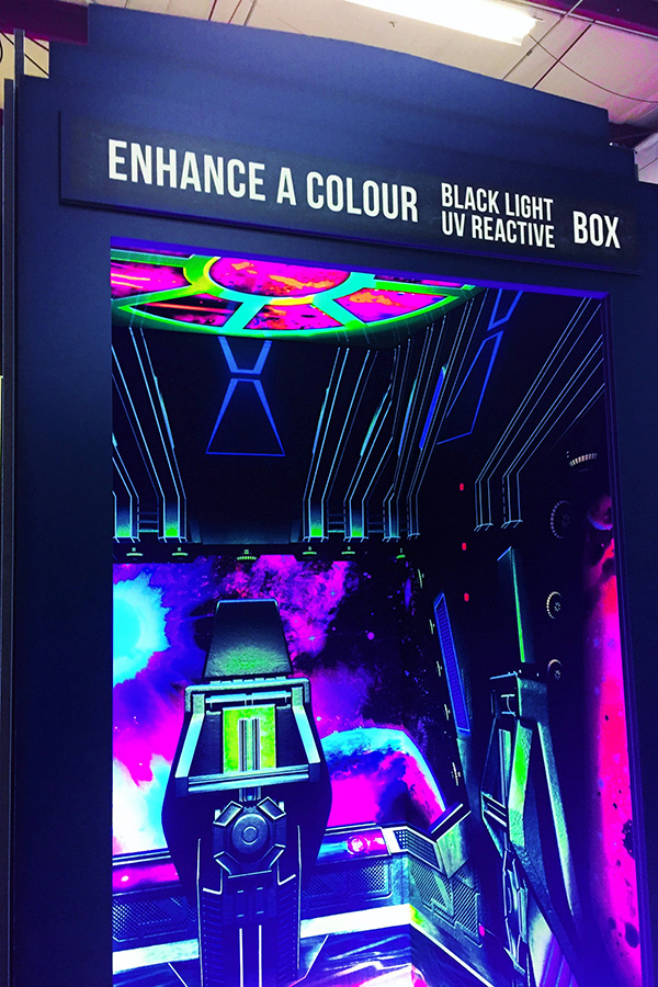 Enhance A Colour Introducing Uv Black Light Reactive Ink