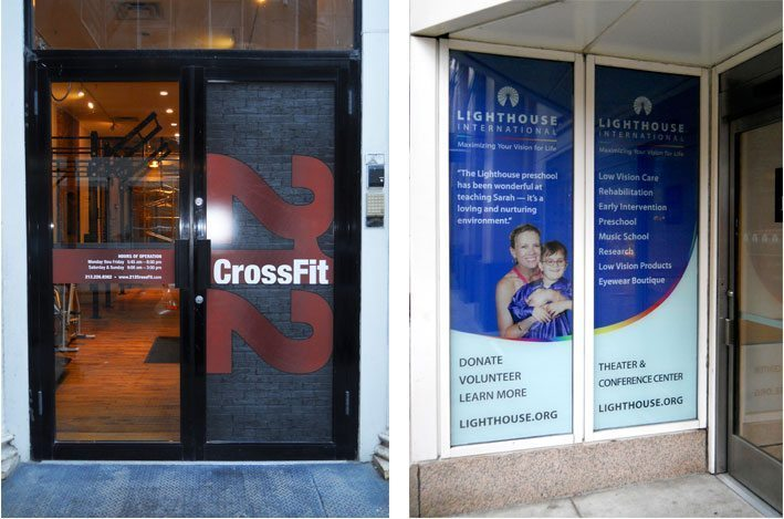 212 CrossFit - Doors & Lighthouse International - Headquarters Front Windows