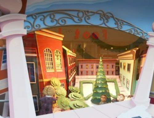 Retail Windows Transformed into Stunning Holiday Attractions