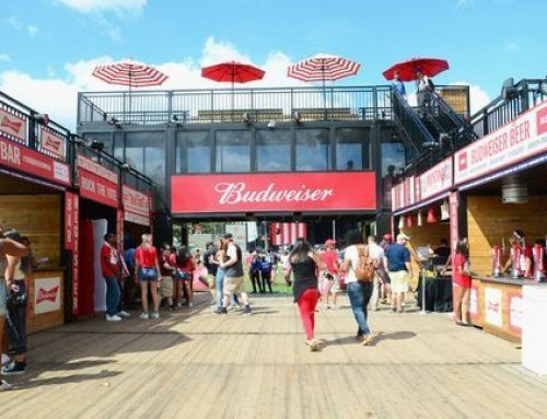 Budweiser Sets the Tone With Printed Wood Signage