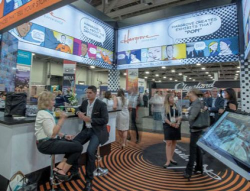 Printed Carpet Grabs Attendees Attention