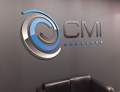 Metallic Signage Changes Your Perception!