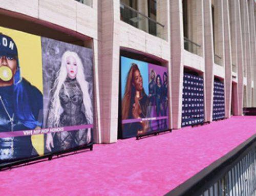 Vibrant Visual Backdrop at the VH1 Hip Hop Honors