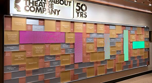 Donor Wall Creates Flair Amp Recognition Enhance A Colour