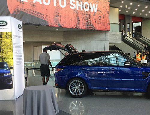 Rental Displays to Brand the NY Auto Show Gala