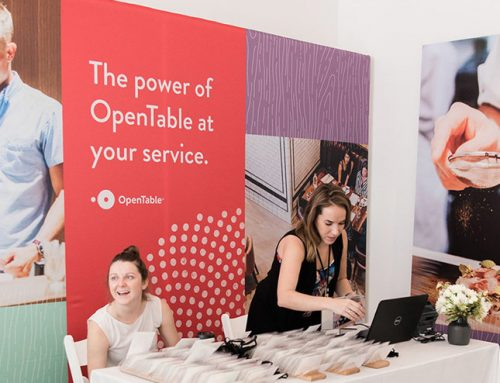 OpenTable's Branded Event Graphics