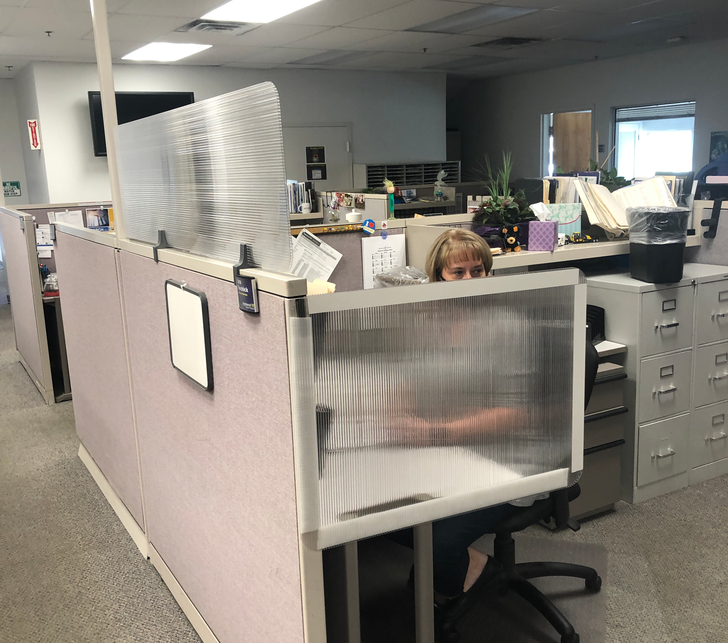 office cubicle covid-19 dividers