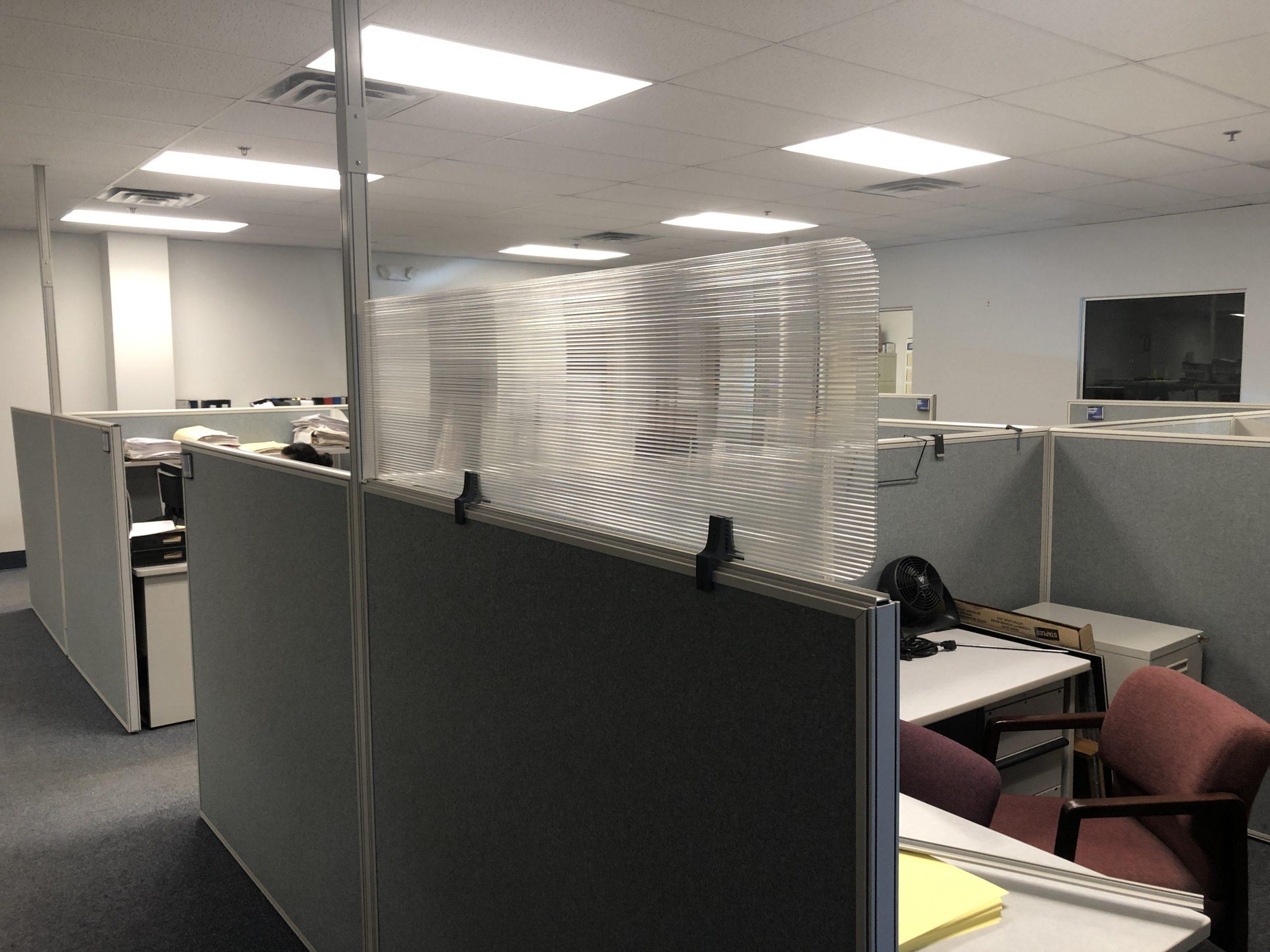 cubicle shield