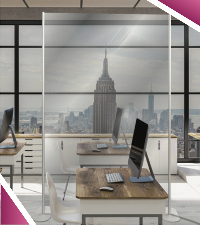 office covid-19 safety partition dividers