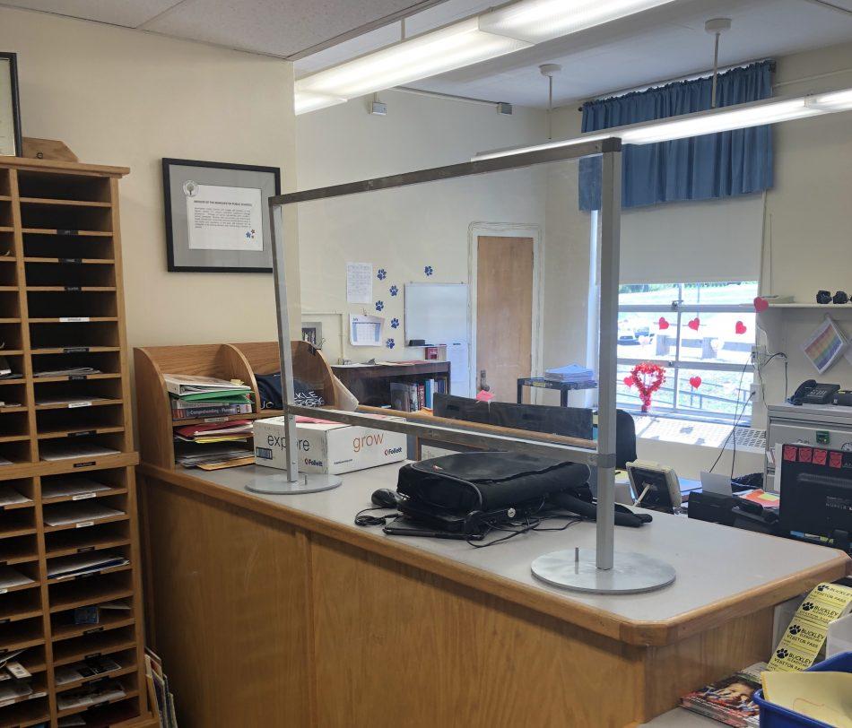 student desk shield