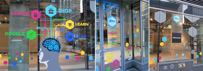 3DEA Company POP-UP Store at 29th Street and Sixth Avenue